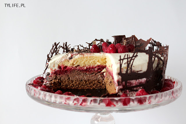 Gâteau Noir-Blanche i 100 post.