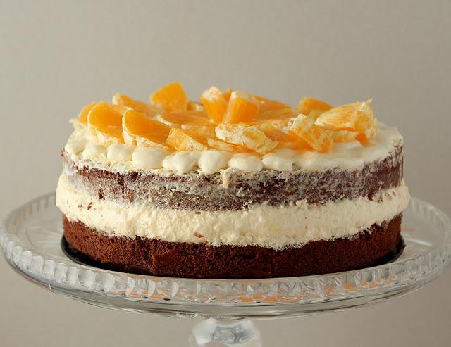 Tort pomarańczowy.