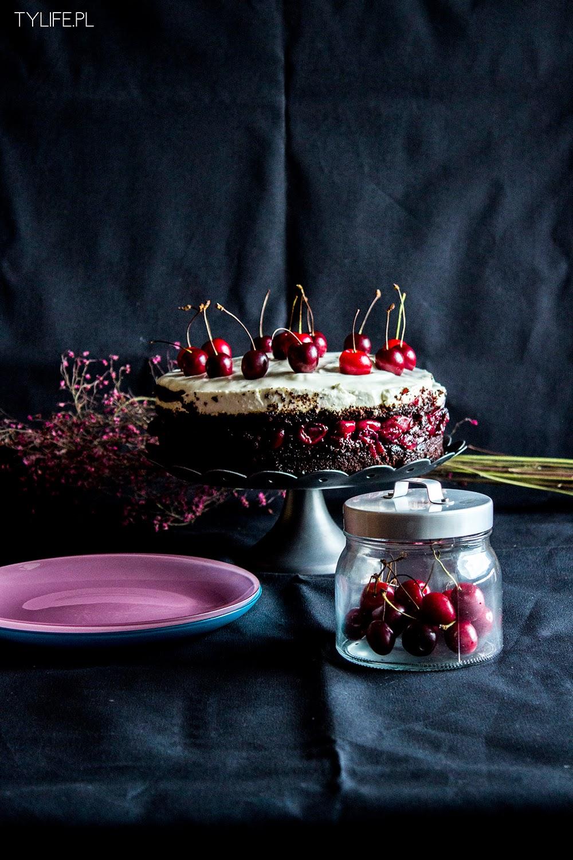 Tort czereśniowy.