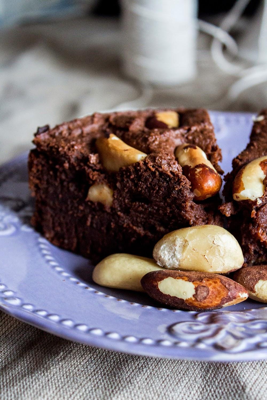 Ciasto czekoladowe z ciecierzycy