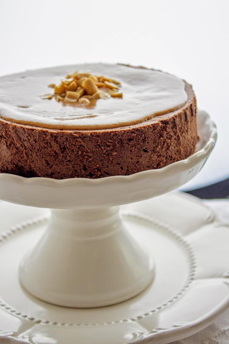 Ciasto czekoladowo orzechowe.